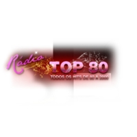 Logo of radio station TOP 80 FM Rádio