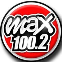 Logo de la radio Max FM 100.2