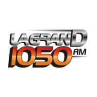Logo of radio station La Gran D 1050 AM