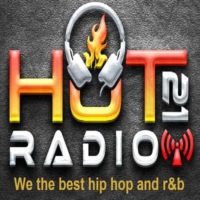 Logo of radio station Hot 21 Radio