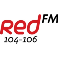 Logo of radio station Corks RedFM 104-106