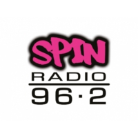 Logo of radio station Rádio SPIN 96.2