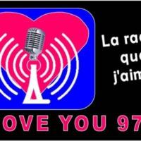 Logo of radio station loveyou974