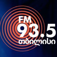 Logo of radio station რადიო თბილისი FM 93.5