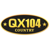 Logo of radio station QX104