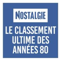 Logo de la radio Nostalgie le classement ultime 80