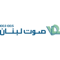 Logo of radio station Voice of Lebanon 100.5 FM