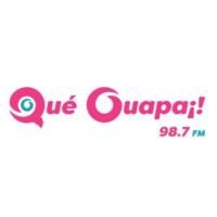 Logo de la radio Qué Guapa 98.7 FM