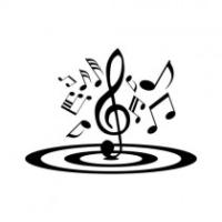 Logo of radio station radio only music