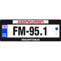 Logo de la radio ავტორადიო FM 95.1