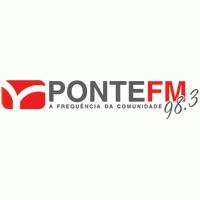 Logo of radio station Ponte FM  98.3 FM Indaial
