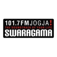 Logo of radio station Swaragama 101.7  FM Jogja!