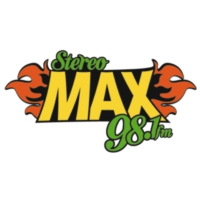 Logo of radio station XHMAXX Stereo Max