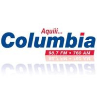 Logo of radio station Columbia 98.7 FM