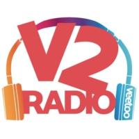 Logo of radio station V2 Radio