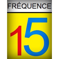 Logo of radio station Fréquence 15
