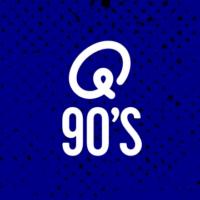 Logo of radio station Q-90's