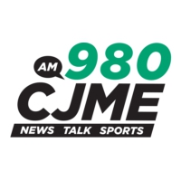 Logo of radio station 980 CJME