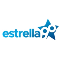 Logo of radio station Estrella 90.5 FM
