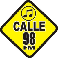 Logo of radio station Calle 98 FM