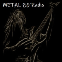 Logo of radio station Metal 80 Radio