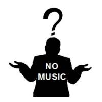 Logo de la radio NoMusic