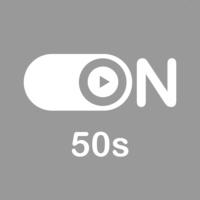 """Logo de la radio """"ON 50s"""""""