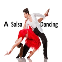 Logo of radio station A Salsa Dancing