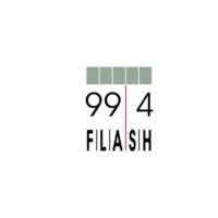 Logo de la radio Flash 99.4