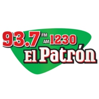 Logo of radio station KOY 93.7 El Patrón