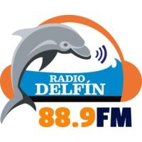 Logo de la radio XHUACC Radio Delfín 88.9 FM