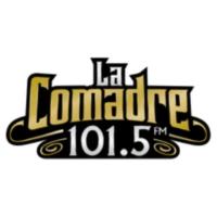 Logo of radio station La Comadre 101.5 FM