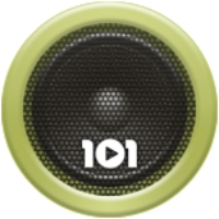 Logo of radio station 101.ru - Blues