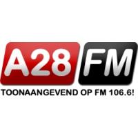 Logo de la radio A28 FM