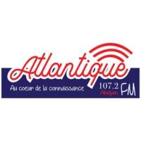 Logo de la radio Atlantique FM - FM 107.2 - Abidjan