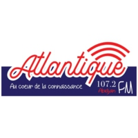 Logo of radio station Atlantique FM - FM 107.2 - Abidjan