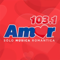 Logo of radio station Amor 103.1