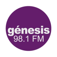 Logo of radio station XHRL Génesis 98.1 FM