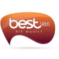 Logo of radio station Best 98.6