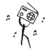 Logo de la radio Café de L'homme Radio