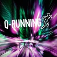 Logo of radio station Q-Running