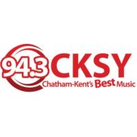 Logo of radio station CKSY 94.3