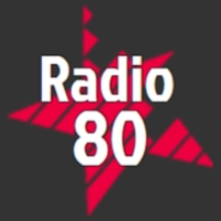 Logo of radio station radio80