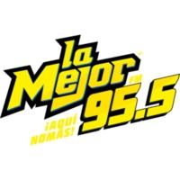 Logo de la radio XHLAZ La Mejor 95.5 FM