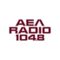 Logo of radio station ΑΕΛ RADIO 104.8