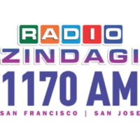 Logo of radio station KGMZ Radio Zindagi 1170 AM
