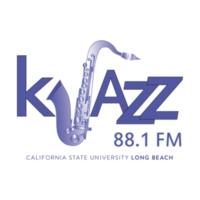 Logo of radio station KJAZZ 88.1 FM
