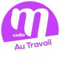 Logo of radio station M Radio - Au travail