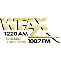 Logo of radio station WFAX AM 1220