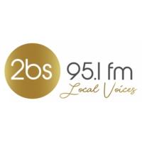 Logo of radio station 2BS 95.1 FM
